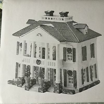 Dept 56 Snow Village® SOUTHERN COLONIAL American Architecture Series -BRAND NEW