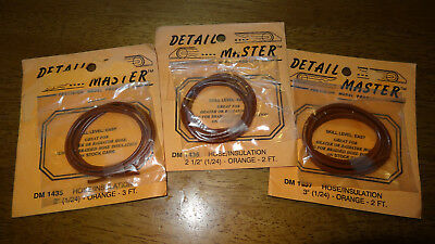 Detail Master 1435 1436 1437 orange coolant hose lot