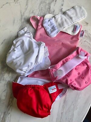 Reusable Modern Cloth Nappy With Inserts