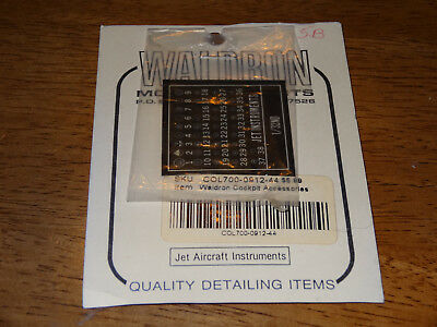 Waldron Model Products - Jet Aircraft Instruments set 1:32