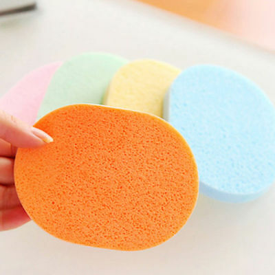 2pcs Portable Soft Compressed Facial Cleansing Face Washing Wash Sponge Pads SM