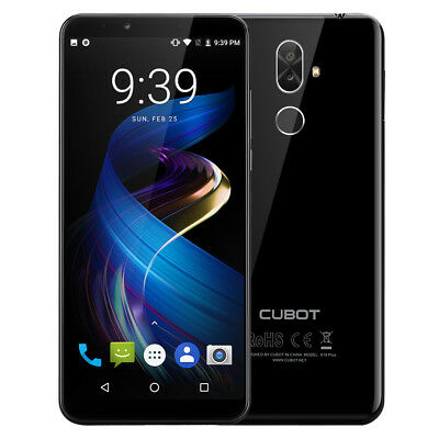 18:9 FHD Cubot X18 Plus 4G Handy Android 8.0 Octa core 4GB+64GB 20MP Smartphone