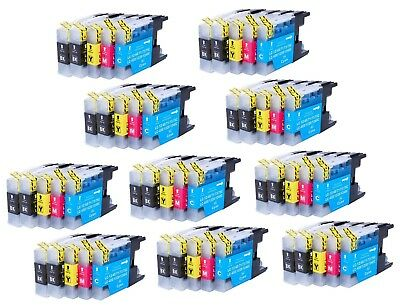 50 Ink Non-Oem Lc-71 Lc-75 Cartridge Brother Mfc-J625Dw, Mfc-J625W, Mfc-J6510Dw