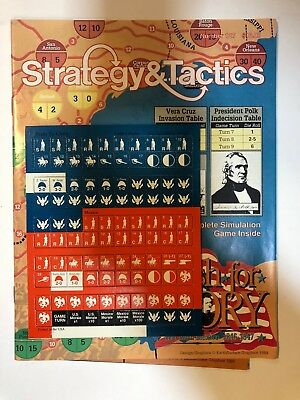 Strategy & Tactics Magazine Number 127 - Rush Of Glory - War With Mexico 1847
