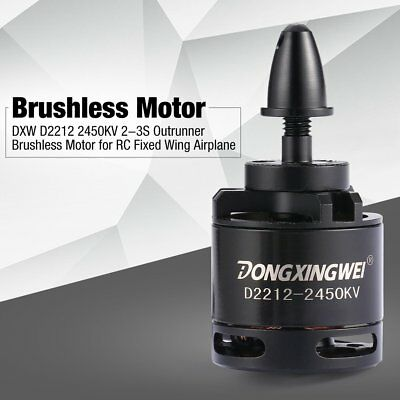 DXW D2212 2450KV 2-3S Outrunner Brushless Motor for RC Fixed Wing Airplane YK