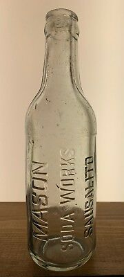 Mason Soda Works Sausalito Crown Top Early 1900s
