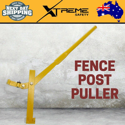 Heavy Duty Star Picket Puller Fence Post Remover Lifter Fencing Steel Pole Tool