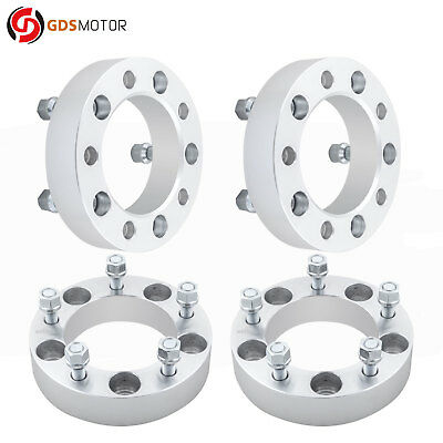 "4pc 1.5"" 5x5.5 Wheel Spacers Adapters 1/2 Studs Ford 1991-1996 F-150"
