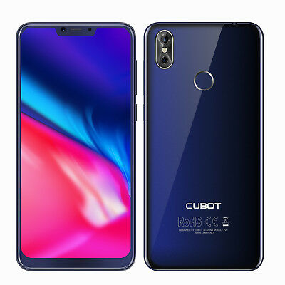 Cubot P20 Octa core 4G Smartphone 6.18 Zoll FHD+ 4GB+64GB 4000mAh Android 8.0