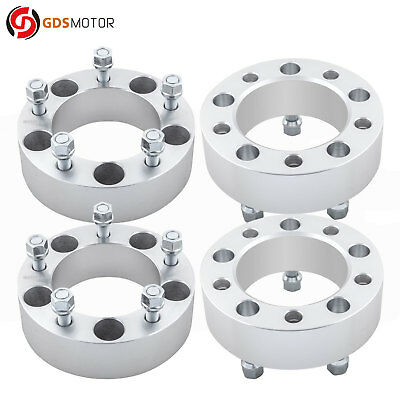 "4pc 2"" 5x5.5 Wheel Spacer Adapters 1/2 Studs for Dodge RAM 1500 1994-2001"