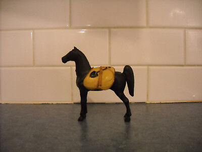 Vintage Tonka Horse Black Model & Pack Rare Prospector Pack Fits Trailer Lovely!