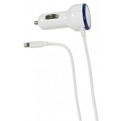Cargador de Coche Vivanco 36302 Iphone 1a Blanco 1 Metro, Cables