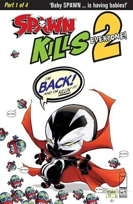 Spawn Kills Everyone Too #1 (Of 4) Cvr A Clean Mcfarlane Image Comics Near Mint