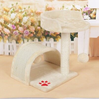 Pet Cat Scratching Perch Post Tree Gym House Furniture Bed Scratcher Small 45cm