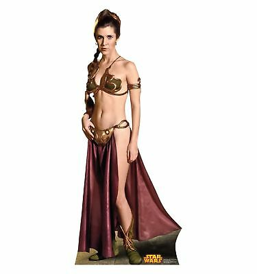 *New* PRINCESS LEIA Slave Girl Star Wars Return of the Jedi LIFE SIZE Standee