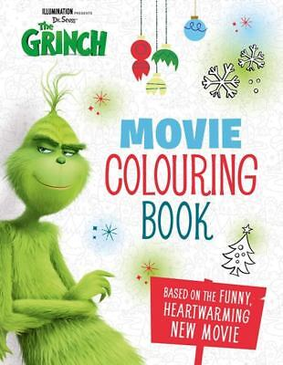 Dr Seuss' The Grinch Movie Colouring Book (NEW)