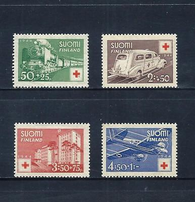 FINLAND _ 1944 'RED CROSS' SET of 4 _ mh ____(561)