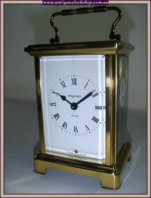 Top French Carriage Clock Part Of Huge Clock Collection Of 40 Year 120+ Clocks