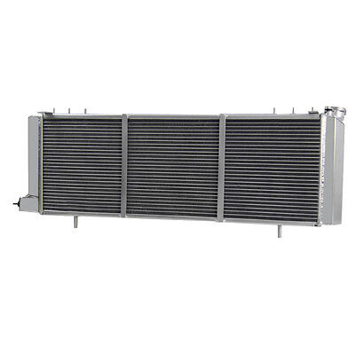 Aluminum Radiator For Jeep Cherokee Xj 4.0L Trans Cooler Driver Side 1994-01 Asi