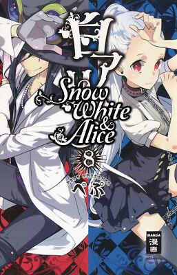 Snow White & Alice - Band 08 Manga NEU