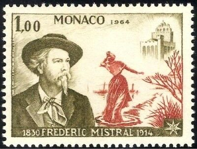 ★ Timbre Monaco - 1964 - N° 598 - Frederic Mistral 1830 1914 - Neuf !!