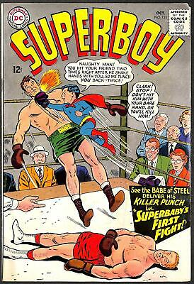 Superboy #124 FN- 1st App Insect Queen (Lana Lang)