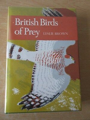 Collins New Naturalist - No 60 Birds of Prey by Leslie Brown - 1976 edition