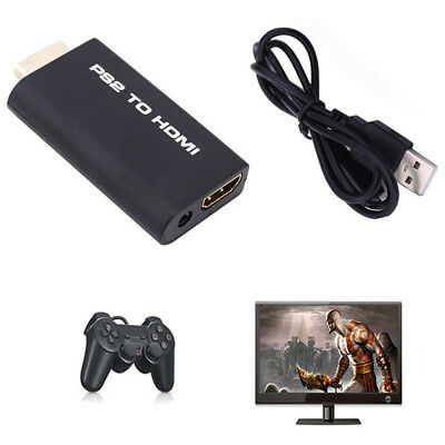 PS2 to HDMI Converter Adapter With USB Cable