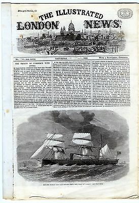 1866 ILLUSTRATED LONDON NEWS Beckenham Crash LAMBETH WORKHOUSE Hull Storm (3531)