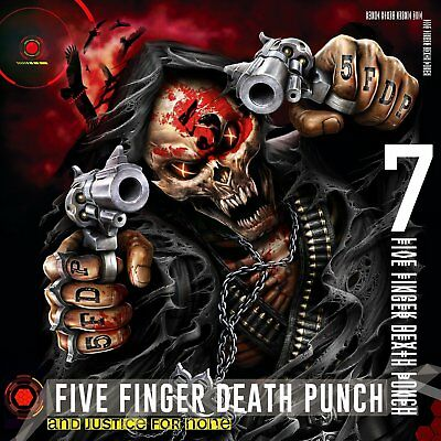 Cd Five Finger Death Punch - And Justice For None -