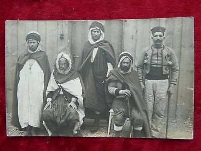 German Photograph of Colonial French Prisoners of War African,Arab-Konstanz PM