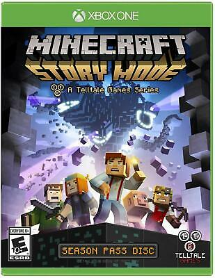 Minecraft Story Mode Xbox One NEW SEALED DISPATCHING TODAY ALL ORDERS BY 2 P.M.