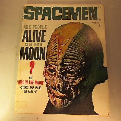 Spacemen  Magazine  Vol 1 #3  1962  Warren