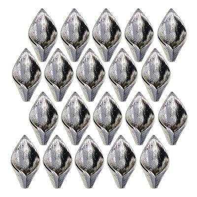 20x Calla Lily Flower Tibet Silver Charms Pendants DIY Jewellery Making Bulk