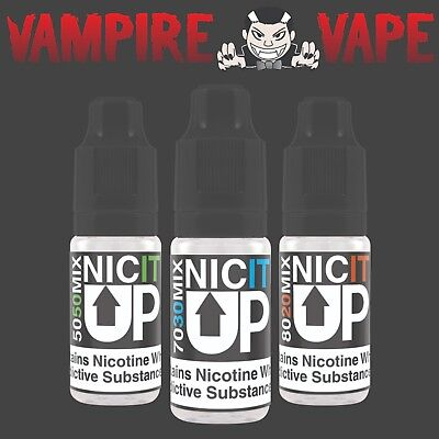 Nic It Up - 10 ml Nic Shot - Nicotine Shot 18mg