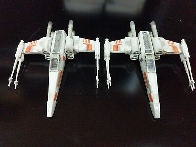 Star Wars Micro Machines 1995 Action Fleet X-Wing Fighter Luke And R2D2 Loose