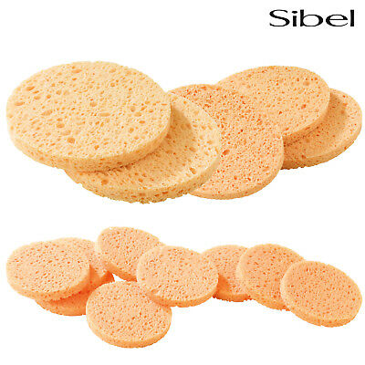 Sibel Cellulose Natural Facial Make Up Removal Sponges For Cosmetic Skin Care