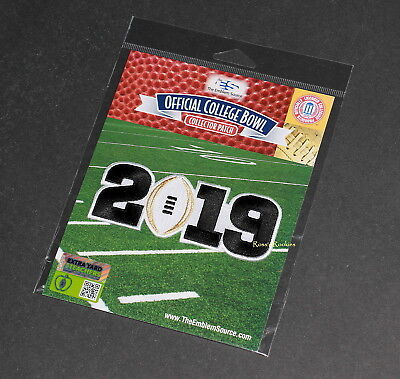 2019 Ncaa College Football Championship Official Patch Clemson Trevor Lawrence