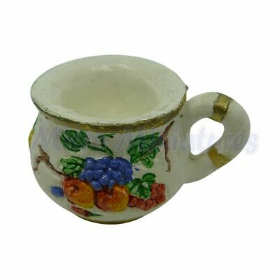 Dolls House Floral Chamber Pot 1/12th Scale (02292)
