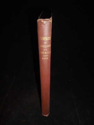 : Fairfaxes Of England And American In The 17Th And 18Th Centuries 1868 1St Ed