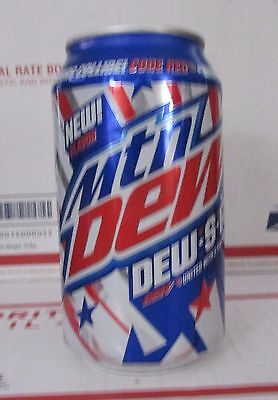 2X Mountain Dew Dew.S.A Limited Edition 12 oz Full  Soda pop MTN S A CANS NEW