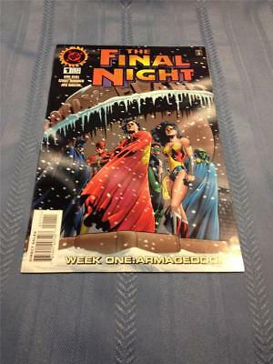 Dc comic books the final night set lot 1 2 3 4 vf to nm