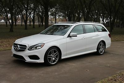 2014 Mercedes-Benz E 350 4Matic Wagon E350 4Matic Wagon  MSRP New $65915 One Owner Perfect Carfax 4Matic Wagon MSRP New $65915