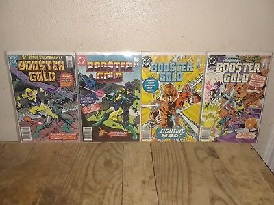 Booster Gold #1 2 3 4 Run Lot 1986 1st Appearance  DC