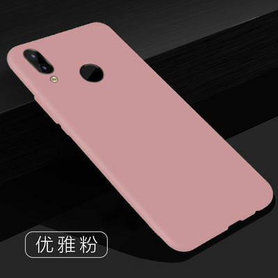 For Huawei Nova 3E/P20 Lite Pro Slim Silicone Rubber Frosted Soft TPU Cover Case