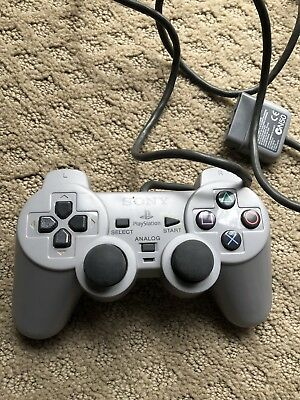Sony PlayStation 1 DualShock Controller PS1 Analog Official Works
