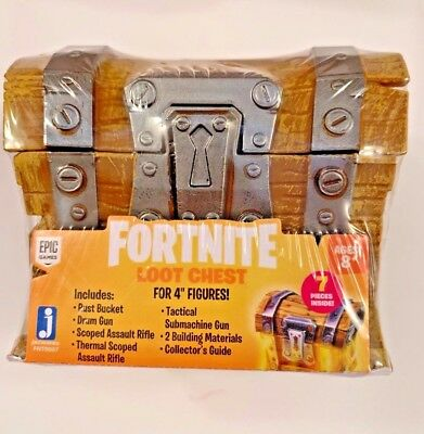 """Fortnite Loot Chest for 4"""" Figures FAST SHIPPING"""