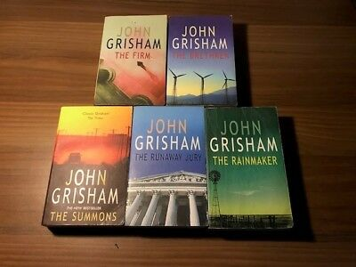 Job Lot Collection x5 John Grisham Novels/Books