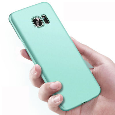 For Samsung Galaxy A6 A8 2018 S8 S9+ Slim Silicone Rubber Frosted TPU Cover Case