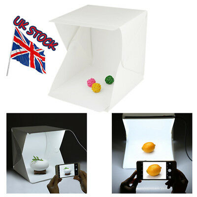 UK Light Room Photo Studio Photography Lighting Tent Kit Backdrop Cube Mini Box